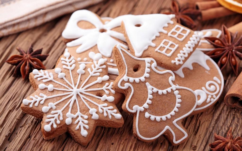 I biscotti di Natale possono essere anche vegani o per intolleranti al glutine, con le giuste accortezze