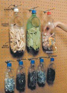 Portaoggetti plastica riciclata
